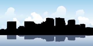 Skyline de Arlington County Fotos de Stock Royalty Free