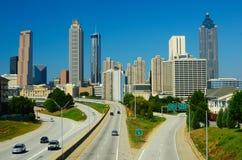 Skyline de Atlanta Fotos de Stock