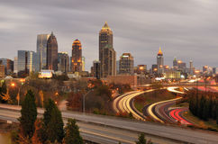 Skyline de Atlanta Fotografia de Stock Royalty Free