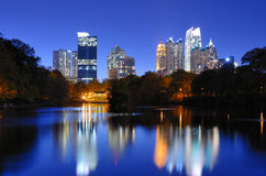Skyline de Atlanta Imagens de Stock Royalty Free