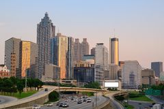 Skyline de Atlanta, Geórgia Imagens de Stock