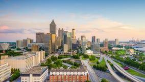 Skyline de Atlanta, Geórgia, EUA filme