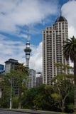 Skyline de Auckland - 1 Foto de Stock Royalty Free