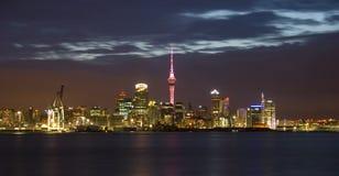 Skyline de Auckland Fotografia de Stock Royalty Free