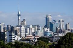 Skyline de Auckland Foto de Stock