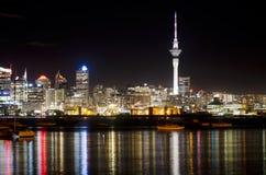 Skyline de Auckland Foto de Stock Royalty Free