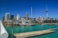 Skyline de Auckland fotos de stock royalty free