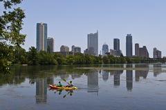 Skyline de Austin Fotografia de Stock