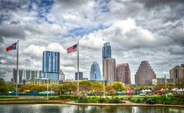 Skyline de Austin, Texas Foto de Stock