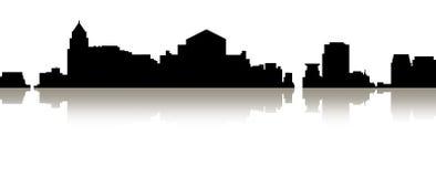Skyline de Banguecoque Foto de Stock