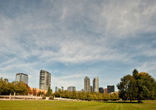 Skyline de Bellevue Imagem de Stock Royalty Free