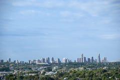 Skyline de Benidorm, Costa Blanca - Espanha imagem de stock royalty free