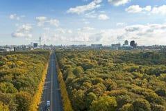 Skyline de Berlim Fotos de Stock