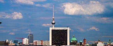 Skyline de Berlim Fotografia de Stock Royalty Free