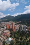Skyline de Bogotá Imagens de Stock