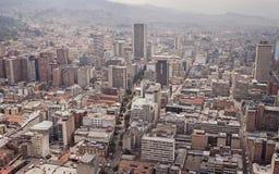 Skyline de Bogotá Foto de Stock