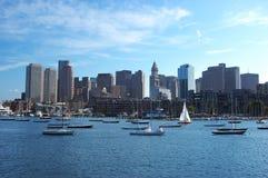 Skyline de Boston imagens de stock