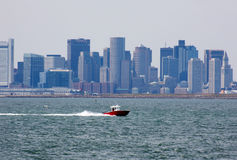 Skyline de Boston Fotos de Stock Royalty Free