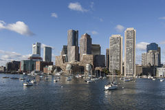 Skyline de Boston Foto de Stock