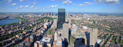 Skyline de Boston, Massachusetts, EUA Imagem de Stock Royalty Free