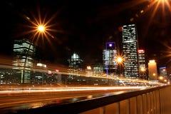 Skyline de Brisbane. Imagens de Stock Royalty Free
