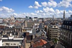 Skyline de Bruxelas Imagens de Stock