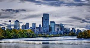 Skyline de Calgary Imagens de Stock Royalty Free