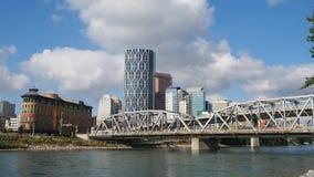 Skyline de Calgary video estoque