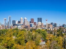 Skyline de Calgary Foto de Stock