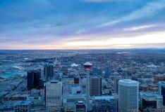 Skyline de Calgary Fotos de Stock