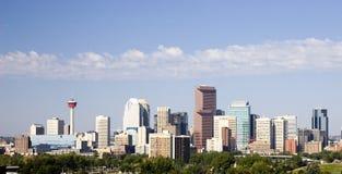 Skyline de Calgary Foto de Stock Royalty Free