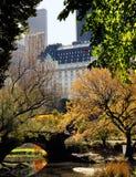 Skyline de Central Park Foto de Stock