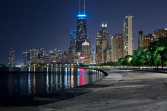 Skyline de Chicago. fotos de stock royalty free