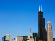 Skyline de Chicago Foto de Stock