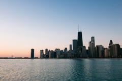 Skyline de Chicago imagem de stock