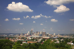 Skyline de Cincinnati   imagem de stock royalty free