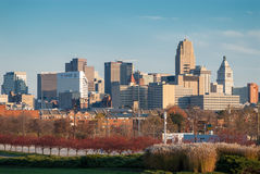 Skyline de Cincinnati Imagem de Stock Royalty Free