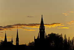 Skyline de Constance Foto de Stock Royalty Free