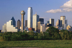 Skyline de Dallas Fotografia de Stock Royalty Free