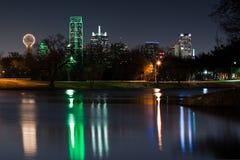 Skyline de Dallas foto de stock royalty free