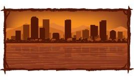 Skyline de Denver Imagens de Stock Royalty Free