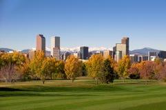 Skyline de Denver Imagens de Stock