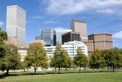 Skyline de Denver Imagem de Stock