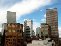 Skyline de Denver Immagini Stock