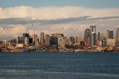 Skyline de Dowtown Seattle Imagens de Stock Royalty Free