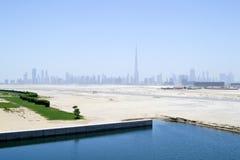 Skyline de Dubai Fotografia de Stock