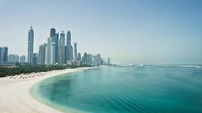 Skyline de Dubai Fotografia de Stock Royalty Free