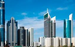 Skyline de Dubai Foto de Stock Royalty Free