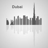 Skyline de Dubai para seu projeto Imagens de Stock