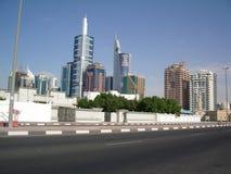 Skyline de Dubai UAE Fotos de Stock